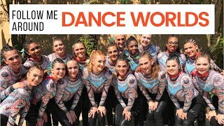 2018 DANCE WORLDS VLOG | Disney World & Dance Competition