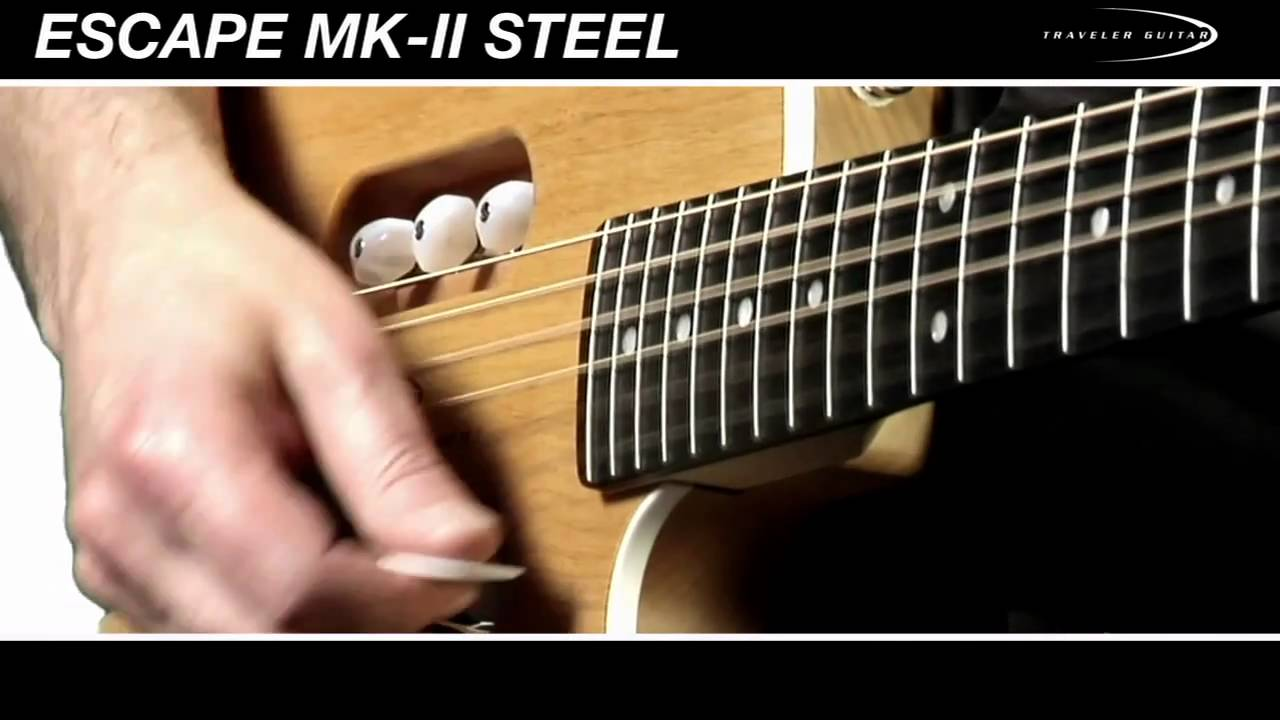 Traveler Guitar Escape MK-II Steel Product Overview
