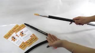 Шланг для кальяну силіконовий Garden Premium Soft Touch з розбірним алюмінієвим мундштуком, відеоогляд 1