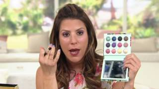 Laura Geller Island Escape Eyeshadow Palette With DramaLASH On QVC