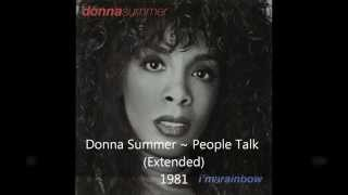 Donna Summer - People Talk (Extended)