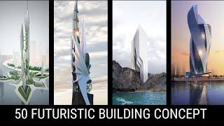 Futuristic Architecture Building Concept Architect Student Drawing WhatsApp Status Architect