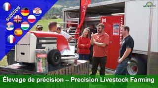 Precision livestock farming: Lely – Isagri – Grunderco – DeLaval – Alptracker – Medria – Quanturi