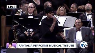 Fantasia Performs Musical Tribute (Aretha Franklin Memorial)