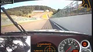 NISSAN GTR NISMO GT3 Onboard Spa - Matt Simmons
