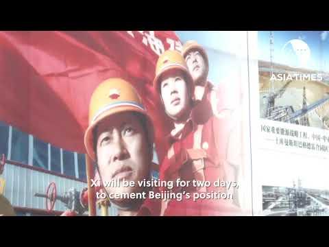 Xi visits Myanmar to push Belt and Road plan