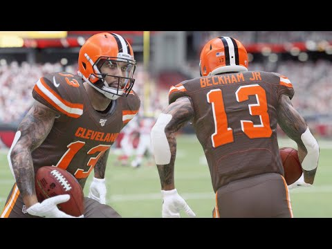 MADDEN 20 GAMEPLAY! ODELL BECKHAM GOES OFF WITH THE BROWNS!