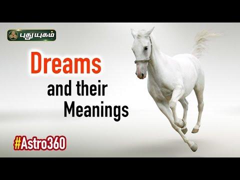 Horse Dream Meaning | வெள்ளை குதிரை கனவில் வந்தால்.. | Astro 360 | 12/09/2019