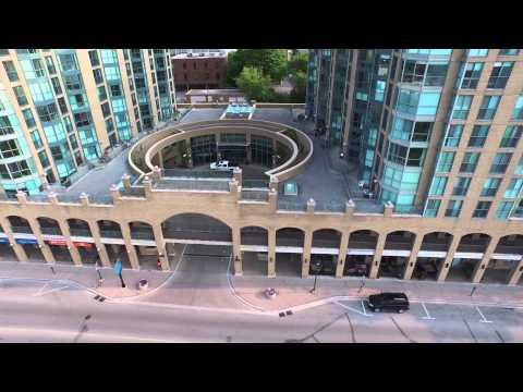 140 Dunlop Street East - Barrie Aerial Video
