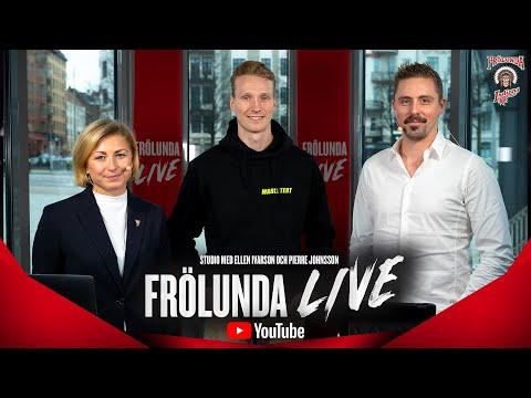 Youtube: Frölunda LIVE med John Klingberg – inför Djurgården den 28 november.