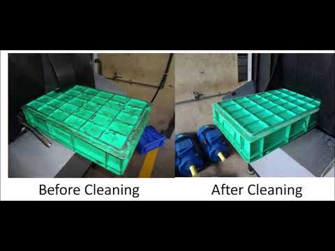 Crate Washer Machine Plastic