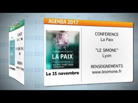 Agenda du 3 novembre 2017