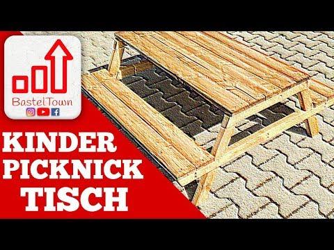 Kinder-Tisch selber bauen: Picknick-Tisch für Kinder - Teil 1