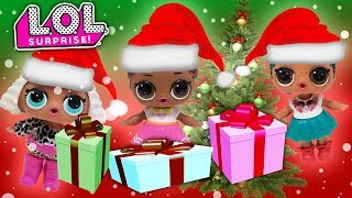 LOL Surprise Dolls Go Shopping at the Mall! MC Swag, Super BB, Court Champ, Honey Bun, Learn Colors!