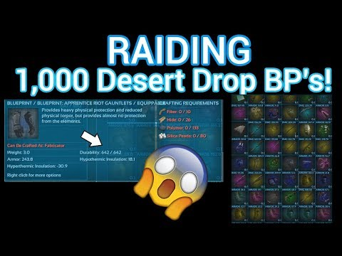Hunting for the ragnarok megatribe ark official pvp arkpocalypse looting 1000 desert drop blueprints ark official pvp malvernweather Gallery