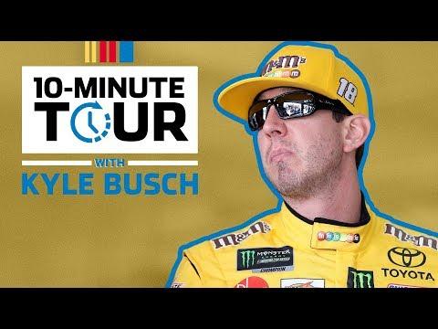 10 minute tour: Kyle Busch at Bristol