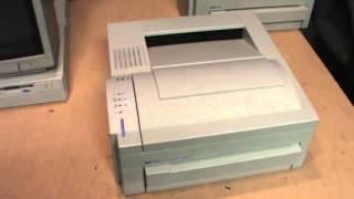 hp laserjet service in 5 minutes most popular videos rh novom ru hp laserjet 4l user guide HP LaserJet 4L Printer Cables
