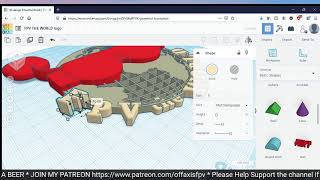 WATCH ME CREATE A LOGO FOR FPV THE WORLD