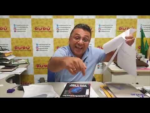 Vereador Dudu grava vídeo  reforçando as acusações contra a FMS