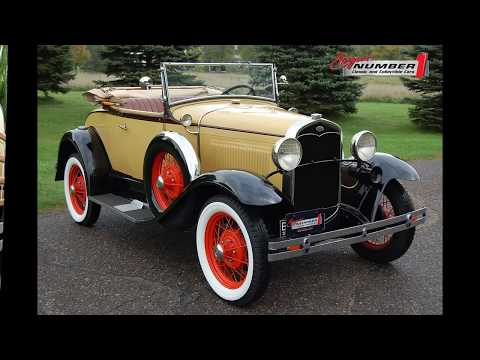 Video of 1931 Model A located in Rogers Minnesota - $28,995.00 Offered by Ellingson Motorcars - QCIM
