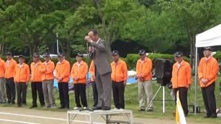 第2回常陸太田ライオンズクラブ杯グラウンドゴルフ大会開会式