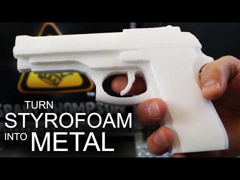 Turn Styrofoam Into Solid Aluminum