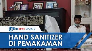 Sejumlah Tempat Cuci Tangan, Sabun dan Handsanitizer Disediakan di Lokasi Pemakaman Ibunda Jokowi
