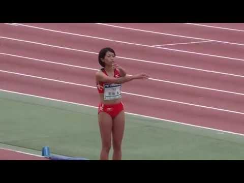 宮坂楓 実業団・学生対抗陸上競技大会2016年7月