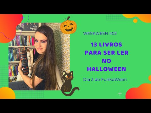 LIVROS DE TERROR PARA LER NO HALLOWEEN | #WEEKWEEN03 | EDUDA