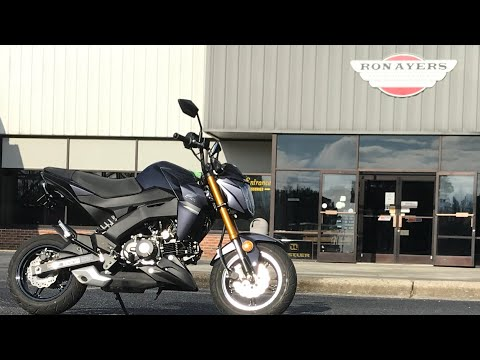 2020 Kawasaki Z125 Pro in Greenville, North Carolina - Video 1