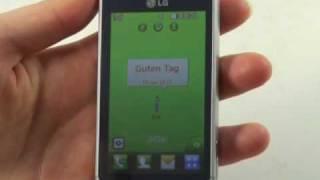 LG GD510 Pop Test Bedienung