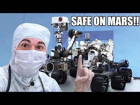 Mars Rover Landing CRASH COURSE- 2 DAYS LEFT!