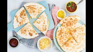 Breakfast Quesadilla - Quick Breakfast Recipes - Weelicious