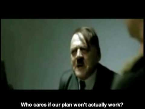 Protesting The Internet Filter Makes Hitler Angry