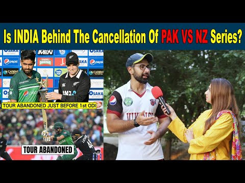 Is INDIA Behind The Cancellation of PAKISTAN and NEW ZEALAND Series? | Pakistani Public Reaction