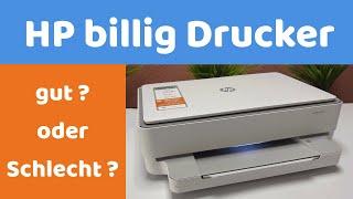 HP Drucker Envy 6020 der Amazon Bestseller im Test! HP Drucker unter 100 Euro ! Gut? oder Schlecht ?