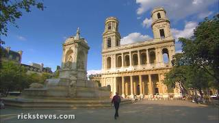 Thumbnail of the video 'Paris' St. Sulpice Church and the Grand Pipe Organ'