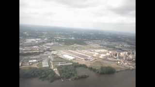 preview picture of video 'Alaska Airlines Inaugural landing into Philadelphia'