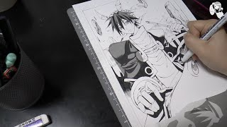 Houshin Engi: Taikoubou. Manga Art Speed Drawing