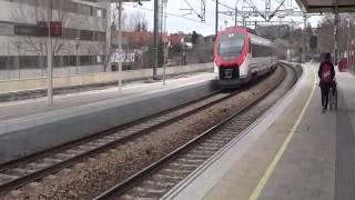 preview picture of video 'Cercanias Civia serie 465 entrando en  Pozuelo de Alarcon 2013 Pozuelo de Alarcon'