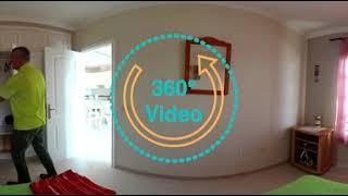 Тенерифе 360 VR видео: Обзор апартамента в 10 метрах от океана