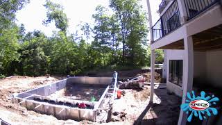 In Ground Vinyl Pool Construction - Speck USA