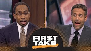 Stephen A. and Max react to HOF possibly requiring inductees to attend ceremony   First Take   ESPN