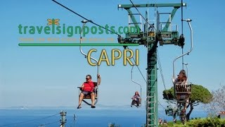 Capri: Live From The Monte Solaro Chair Lift!
