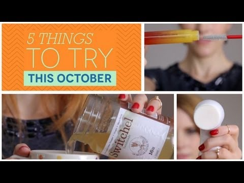 5 Things to Try This October 2013