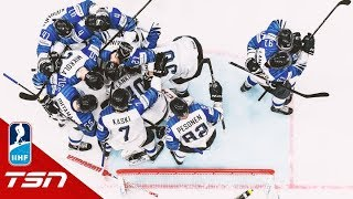 Finland stuns Russia with semifinal win at IIHF World Hockey Championship