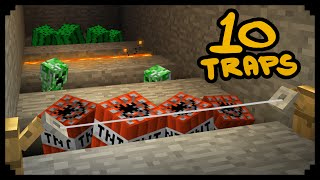 ✔ Minecraft: 10 Ways to Make Traps