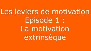 Les leviers de motivation au travail