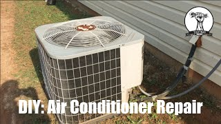 Easy Air Conditioner Repair: Fan Not Spinning - Blowing Warm Air