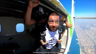 Skoczyliśmy ze spadochronem! | Dubai